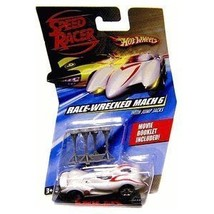 Speed Racer Hot Wheels Mach 6 (Race-wrecked) - $10.00