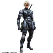 NEW PLAY ARTS KAI FIGURE METAL GEAR SOLID 2 SONS OF LIBERTY RAIDEN F/S - $69.61
