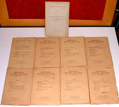 9 Minnesota History v5 1923-24 Fur Trade Red River Valley Peoples Party ... - $40.00