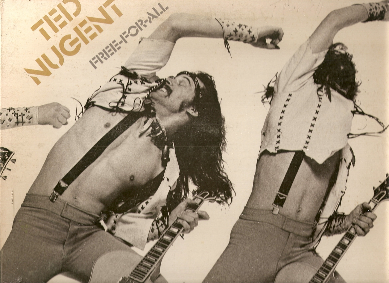 LP--Ted Nugent 	-	 Free For All