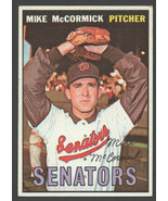 Washington Senators Mike McCormick No Trade Variation 1967 Topps Card 86... - $17.99