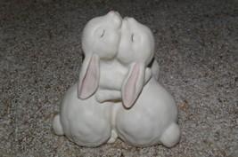 Homco Love is Wonderful Figurine Bunnies Home Interiors - $9.99
