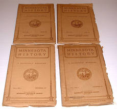 4 Minnesota History v8 1927 History Wilderness Danish  - $20.00
