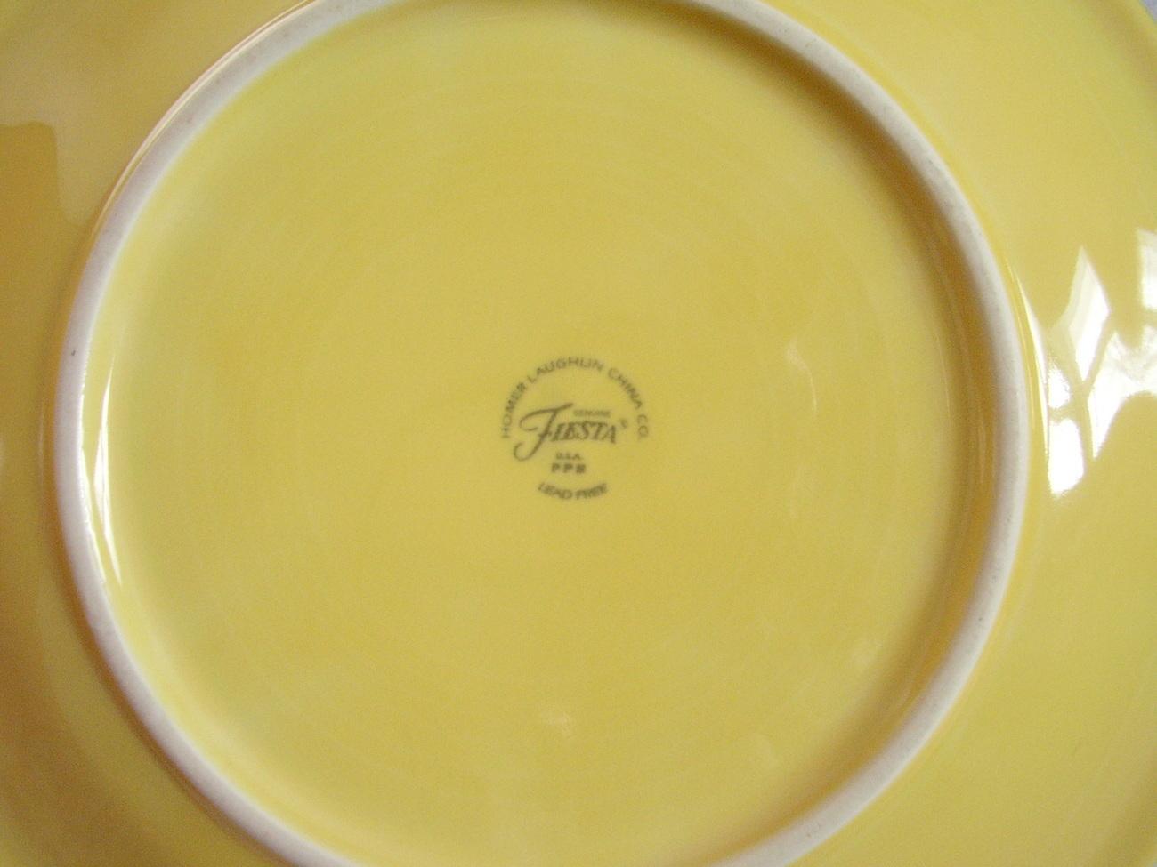 Fiestaware Light Yellow Dinner Plate Fiesta  K