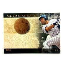 Derek Jeter 2012 Topps Gold Standard Insert #GS-20 MLB HOF New York Yankees - $2.92