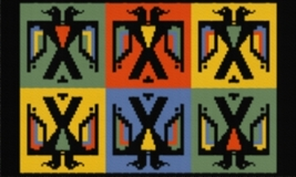 Latch Hook Rug Pattern Chart: Thunderbirds - EMAIL2u - $5.75
