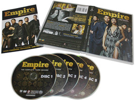 Empire The Complete Third Season 3 DVD Box Set 5 Disc Free Shipping New - $28.00