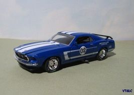 1969 Ford Mustang 302 Trans Am -  1:43 diecast race car - $19.95