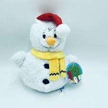 Bark Box M/L 20+ lbs You're A Snowman, Charlie Brown Dog Toy Squeaker Cr... - £18.16 GBP