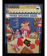 Vintage Patons Bazaar Book Knitting Crochet Patterns Gifts - $6.99