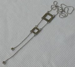 Silver ladder necklace - $56.00