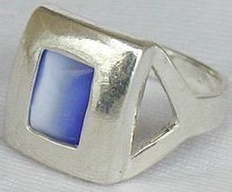 Blue cat eye ring 3 thumb200