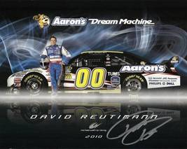 2010 DAVID REUTIMANN #00 AARON'S POSTCARD SIGNED - $10.95