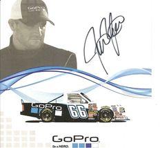 2011 JUSTIN MARKS #66 GoPro NASCAR CWTS POSTCARD SIGNED - $10.95
