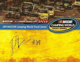 2011 PARKER KLIGERMAN #29 NASCAR CWTS POSTCARD SIGNED - $10.95