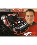 2011 DUSTY DAVIS #15 VISION AIRLINES POSTCARD SIGNED - $10.75