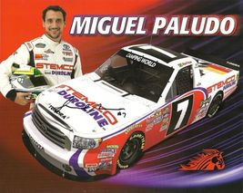 2011 MIGUEL PALUDO #7 STEMCO NCWTS POSTCARD SIGNED - $10.95