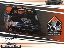2011 JAMES BUESCHER #31 WOLFPACK NCWTS POSTCARD SIGNED - $10.95