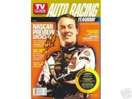 FEBRUARY 2004 TV GUIDE AUTO RACING YEARBOOK MAGAZINE KEVIN HARVICK COVER... - $70.00