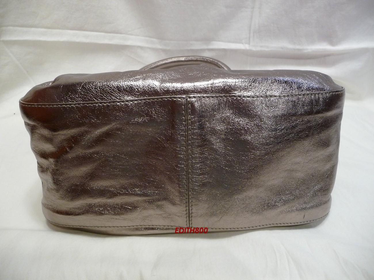 Kate Spade Metallic Handbag Purse NWT Ash Reduced