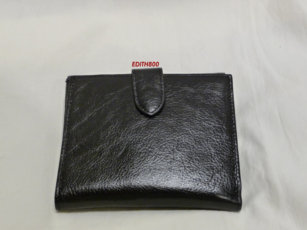 Cole Haan Black Leather French Wallet NWT