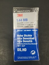 Imation 3M Diskettes 1.44MB IBM Formatted 3.5 inch DS HD 10 Pack - Free Shipping image 2