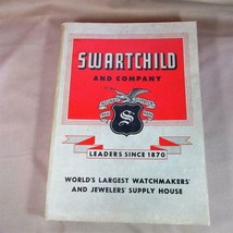 Vintage Swartchild 1951 Watch and Jewelry Makers Supply Catalog, Exc. Cond. - $43.01