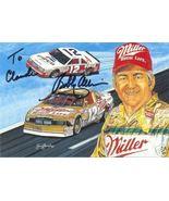 BOBBY ALLISON #12 MILLER HIGH LIFE NASCAR POSTCARD SIGNED - $14.75