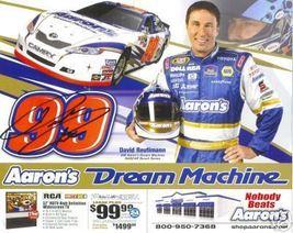 2007 DAVID REUTIMANN #99 AARON'S POSTCARD SIGNED - $10.75
