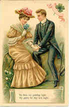 Be Thou My Guiding Light Vintage 1907 Post Card - $6.00