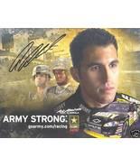 2008 ARIC ALMIROLA #8 US ARMY NASCAR POSTCARD SIGNED - $10.75