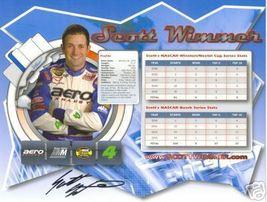 2006 SCOTT WIMMER #4 AERO EXHAUST POSTCARD SIGNED - $10.75