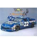 1994 BOBBY LABONTE #22 MAXWELL HOUSE POSTCARD SIGNED - $19.75