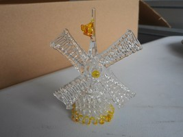 Vintage Glass Windmill - $10.00