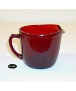 Royal Ruby Creamer Flat - $5.95