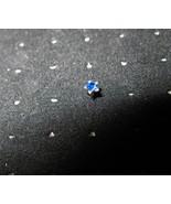 NOSE STUD BLUE TOPAZ STAR BODY PIERCING JEWELRY... - $6.99