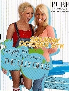 Primary image for The Olly Girls @ PURE Nightclub Vegas Promo Card