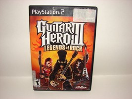 PS2 Guitar Hero III Legends of Rock Video Game  - $5.93