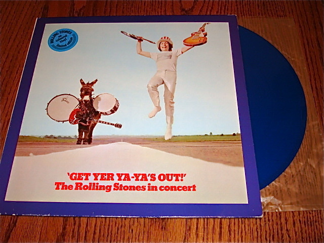 THE ROLLING STONES GET YER YA-YA'S OUT COLORED VINYL LP
