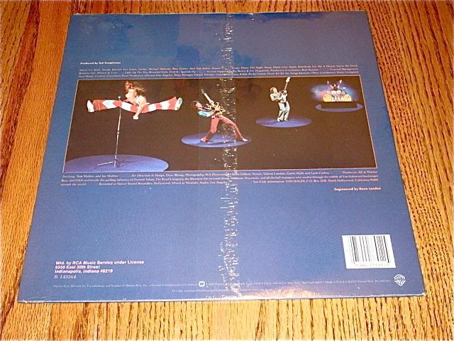 VAN HALEN II LP Sealed!