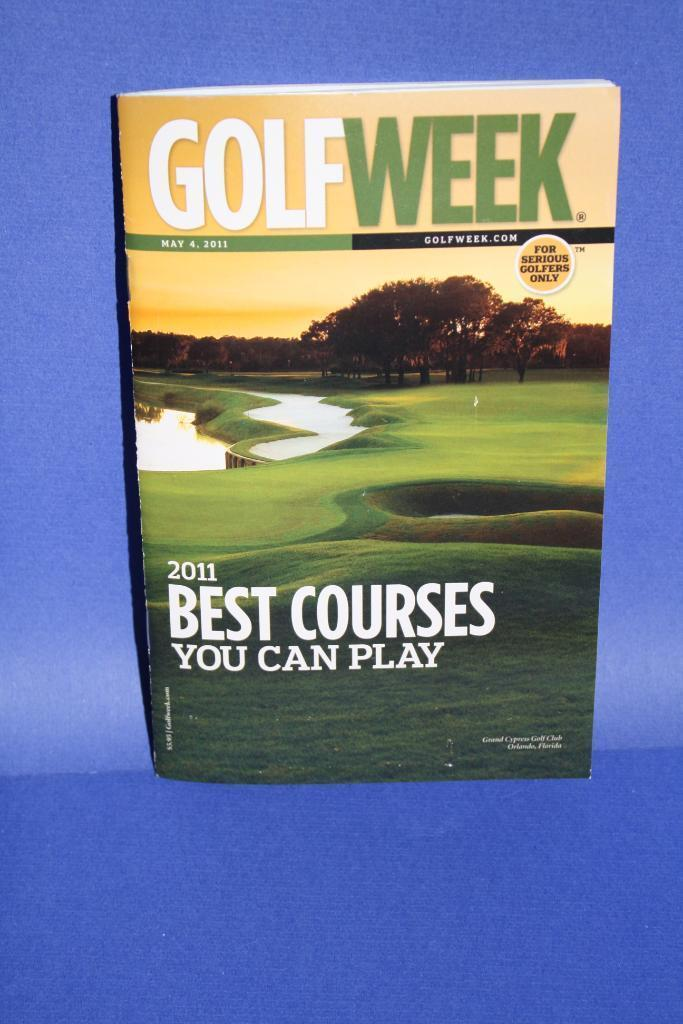 NEW Golf Week Best Courses You Can Play May 2011 Book Soft Magazine