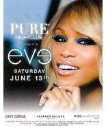 Eve @ PURE Nightclub Las Vegas Promo Card - $1.95