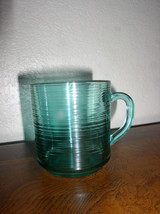 Mug in Jardiniere (Turquoise) by Arcoroc - France - $21.95