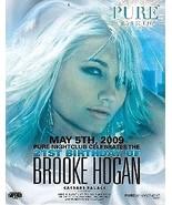 Brooke Hogan @ PURE Nightclub Vegas Promo Card - $1.95