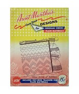 Group of Borders Aunt Marthas 3554 Vintage Hot Iron Transfer Gingham Che... - $7.99