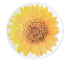 Kate Spade Sunflower Melamine Salad Accent Plates  (set of 4) - $60.39