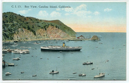 Bay View Steamer Catalina Island California 1910c postcard - $5.89