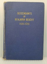 Descendants of Benjamin Beachy 1820-1950 - $49.45