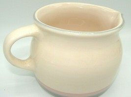 Euc Pfaltzgraff Aura Pink Usa Blue Gray, Pink Bands - Gravy Boat Pitcher Retired - $10.39