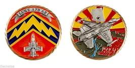 "Luke Air Force Base Afb Arizona 1.75"" Challenge Coin - $18.04"